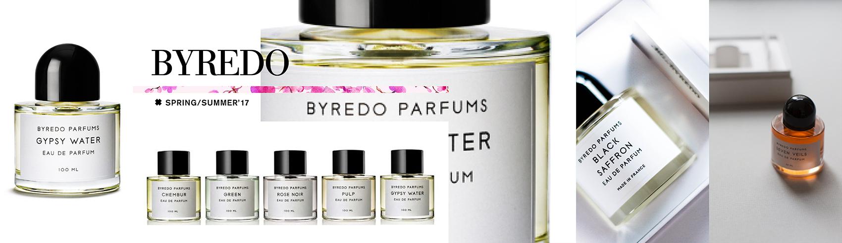 Perfumes Byredo. Embriagadores y distintivos. Encuentralos en Del Rosa al Amarillo