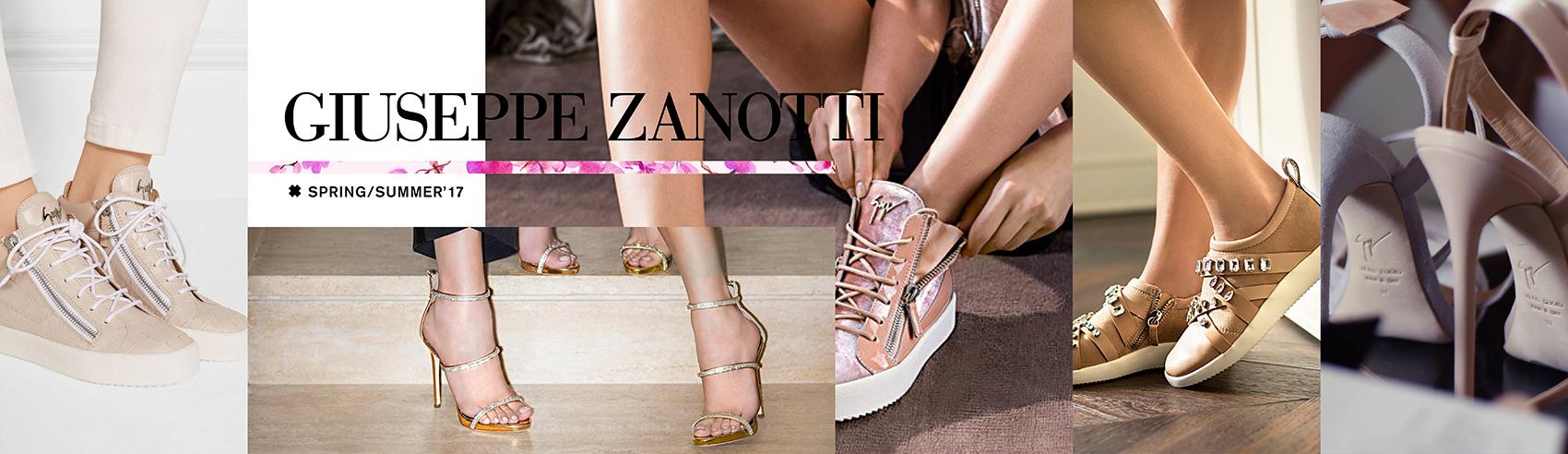 Pies super poderosos gracias a los zapatos, sandalias y sneackers de sneakers Giuseppe Zanotti.