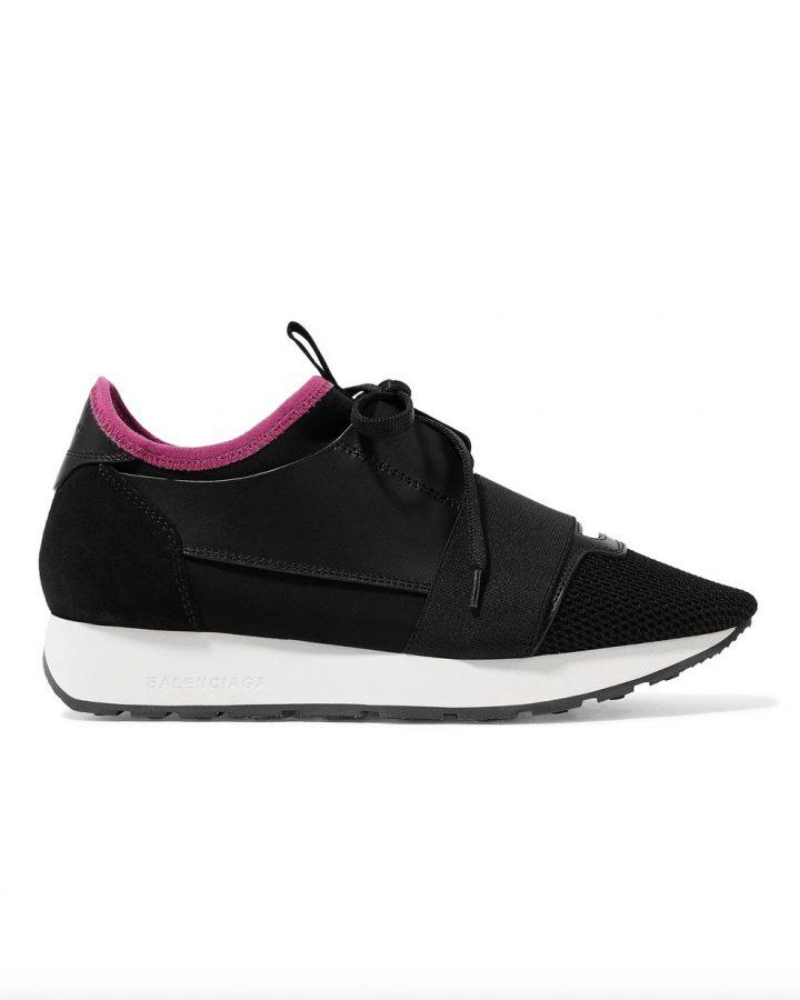 Balenciaga Del Rosa al Amarillo Santander sneakers black negro