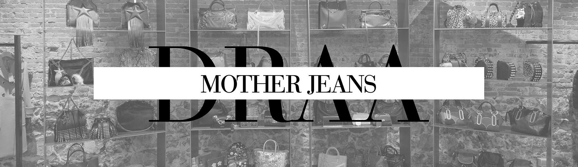 cabecera del rosa al amarillo mother jeans