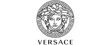logo del rosa al amarillo versace