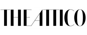 logo del rosa al amarillo attico